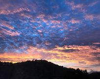 Piękni nieba Fotografia Stock