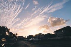 Piękni nieba Zdjęcia Stock