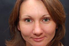 piękni oczu kobiety potomstwa fotografia royalty free