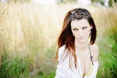 piękni outdoors kobiety potomstwa Fotografia Royalty Free