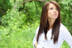 piękni outdoors kobiety potomstwa Obraz Stock