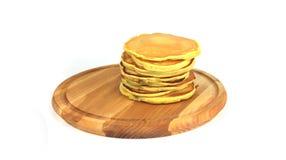 piękni piec aromatyczni punkcakes na drewnianej desce Obraz Royalty Free