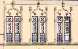 piękni starzy okno Zdjęcie Royalty Free