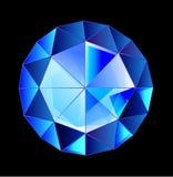 Piękni szafirowi klejnoty klejnotu diamentu szafir Fotografia Royalty Free