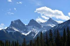 Piękni szczyty Skaliste góry zdjęcie royalty free