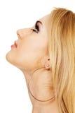 piękni twarzy portreta kobiety potomstwa Zdjęcie Royalty Free