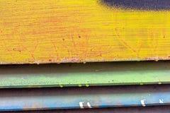 Piękni uliczni sztuka graffiti Abstrakcjonistyczni kreatywnie kolory Zdjęcie Royalty Free