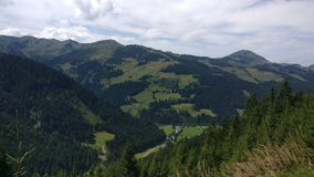 Piękni widoki Austria Obrazy Royalty Free