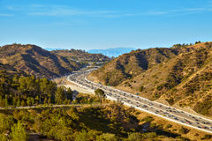 Piękni widoki 405 autostrada Obraz Stock