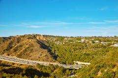 Piękni widoki 405 autostrada Obraz Royalty Free