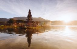 Piękni widoki Bali w ranku Obrazy Stock