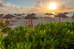 Piękni wspominki Cancun wakacje zdjęcia stock