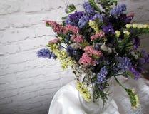 Piękni wysuszeni kwiaty Zdjęcie Stock