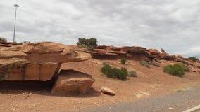 Piękno Arizona wiele wzgórza Zdjęcia Royalty Free