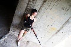 Piękno assassin05 zdjęcia stock