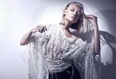 piękno blondyny Obrazy Royalty Free