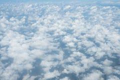 Piękno chmury w naturze i niebo Zdjęcie Royalty Free