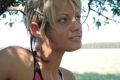 piękno dziewczyna Zdjęcia Royalty Free