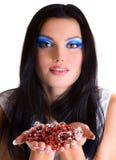 piękno dziewczyny makeup obrazy royalty free