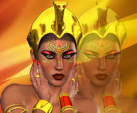 Piękno Egipt Fotografia Royalty Free