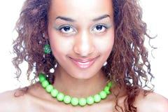 Piękno etniczna dziewczyna Zdjęcia Royalty Free