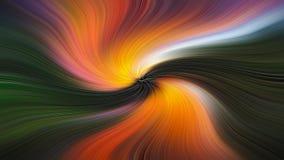 Piękno falowych wzorów abstrakcja fantazja obraz royalty free