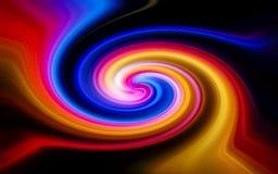 Piękno falowych wzorów abstrakcja fantazja zdjęcia royalty free