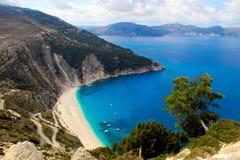 Piękno Grecja Fotografia Royalty Free