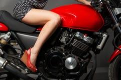 piękno kobiet technics Obrazy Royalty Free