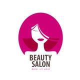 Piękno loga projekta wektorowy szablon kosmetyk Zdjęcia Royalty Free