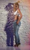 Piękno model Zdjęcia Royalty Free