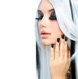 Piękno mody dziewczyna Fotografia Stock
