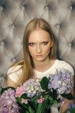 Piękno mody portret Piękno, moda, fryzura Zdjęcia Royalty Free