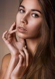 Piękno naturalny portret Zdjęcia Royalty Free