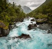 Piękno Norwegia Fotografia Royalty Free