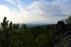 Piękno Perm region w Ural Zdjęcie Stock