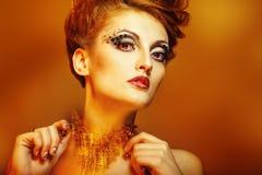 Piękno portret dziewczyna Fotografia Stock