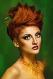 Piękno portret dziewczyna Zdjęcie Stock