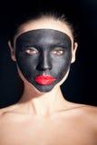 Piękno portret kobieta z kreatywnie makeup Zdjęcia Stock