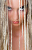piękno portret nastoletni Zdjęcie Stock