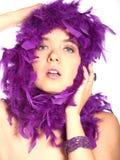 piękno purpury Zdjęcia Stock