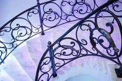Piękno schodek w klasyka stylu Fotografia Royalty Free