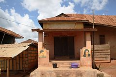 Piękno sklep w Ghana Fotografia Royalty Free