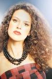 Piękno splendoru kobiety portret Fotografia Royalty Free