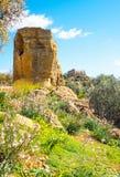 Piękno sztuka i natura Agrigento prowincja Fotografia Stock