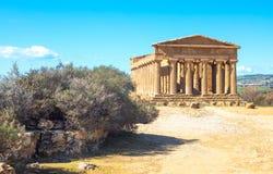 Piękno sztuka i natura Agrigento prowincja Zdjęcie Stock