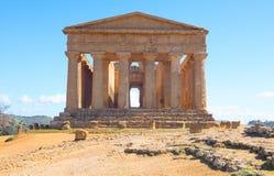 Piękno sztuka i natura Agrigento prowincja Zdjęcia Stock