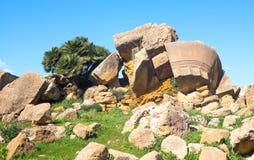 Piękno sztuka i natura Agrigento prowincja Obrazy Stock