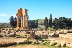 Piękno sztuka i natura Agrigento prowincja Zdjęcia Royalty Free