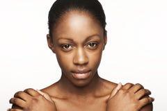piękno twarz Obraz Royalty Free